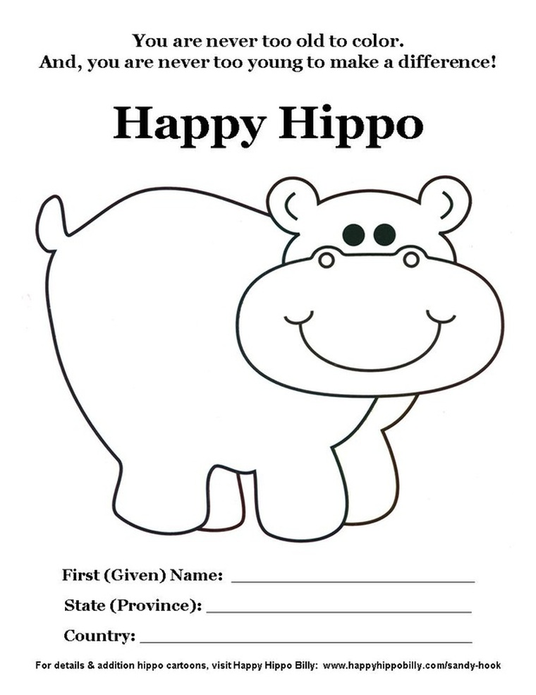 Happy Hippo Billy
